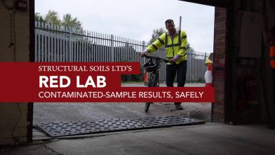'Red' soil and material testing laboratory