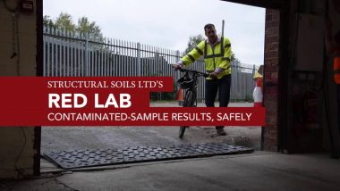 'Red' soil and material testing laborator